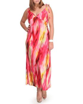 Fashion Lab - Lets Tango Halter dress (plus)