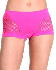 Intimates & Sleepwear - Mesh Sides Seamless Short