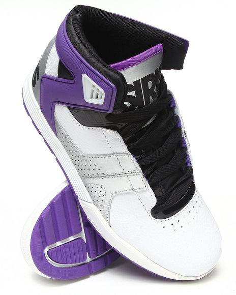 Osiris - Men Black,Purple,White L2 Sneakers