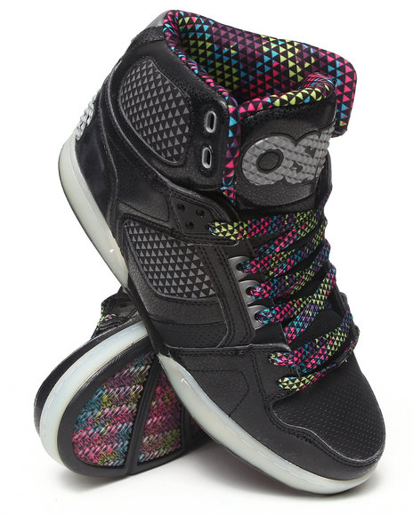 Osiris - Men Black,Silver Nyc 83 Sneakers - $45.99