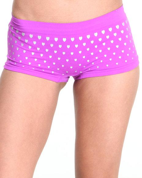 Drj Lingerie Shoppe Purple Panties