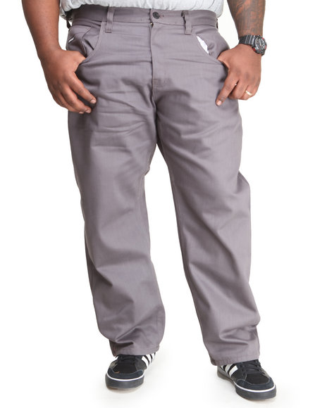 Enyce Charcoal New Traditional Colored Denim (Big & Tall)