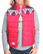 LRG - Alpine & Coke Puffy Vest