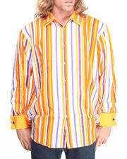 Men - Striped Woven Shirt