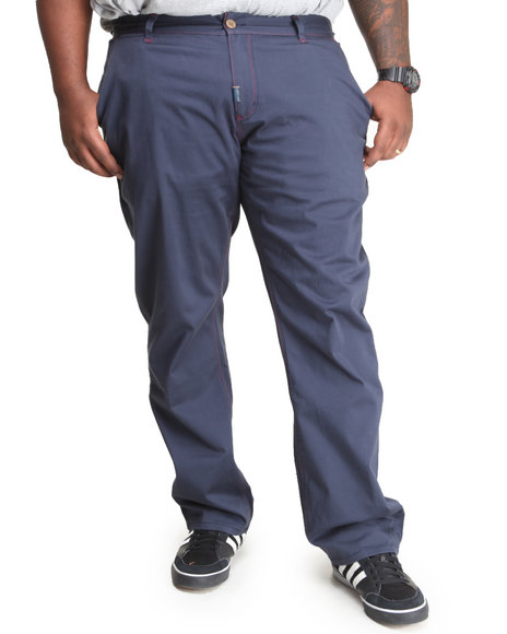 Lrg - Men Navy Father Nature True-Straight Pants (B&T)