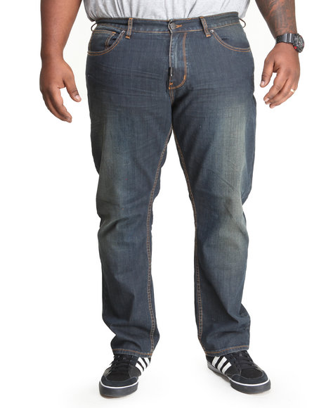 Lrg - Men Medium Wash,Raw Wash L R G Classics True-Straight Jeans (B&T)
