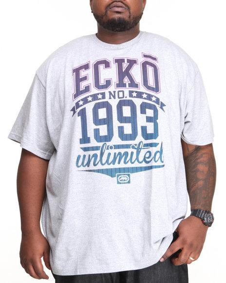 Ecko - Men Grey Filler Time T-Shirt (B&T)