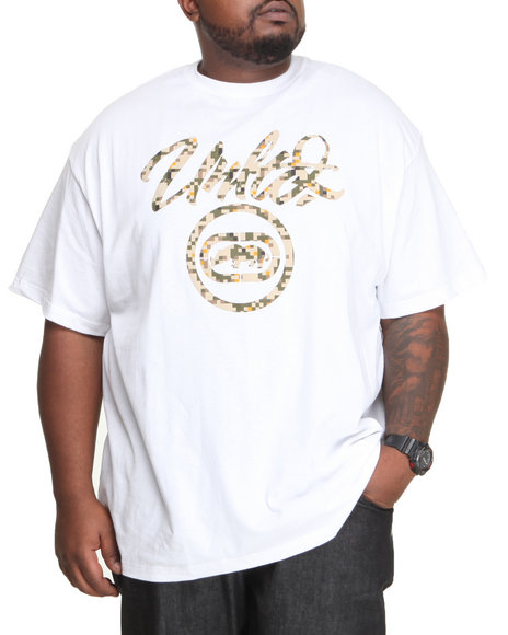 Ecko - Men White Brush Core T-Shirt (B&T)
