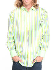 Button-downs - Striped Woven Shirt