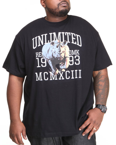 Ecko Black Core Rampage T-Shirt (Big & Tall)
