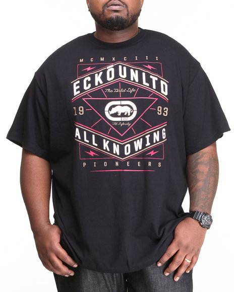 Ecko Black Grid Core Hunter T-Shirt (Big & Tall)