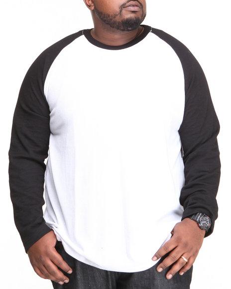 Mens Henley Raglan Shirt
