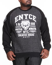 Pullover Sweatshirts - Kai Raglan Crew Neck Fleece (B&T)