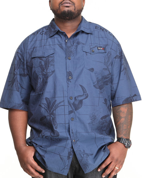 Enyce Blue Traveler L/S Button-Down (Big & Tall)