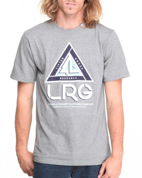 Lrg - Men Charcoal Trisector S/S Tee