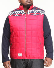 LRG - Alpine & Coke Puffy Vest (B&T)