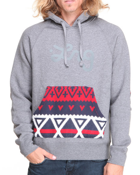 LRG Charcoal Alpiner Pullover Hoodie