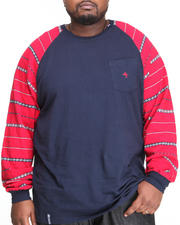 LRG - L - Natured L/S Raglan Tee (B&T)
