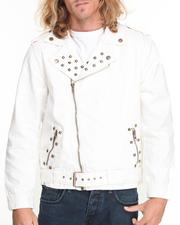Basic Essentials - Studded Denim Jacket