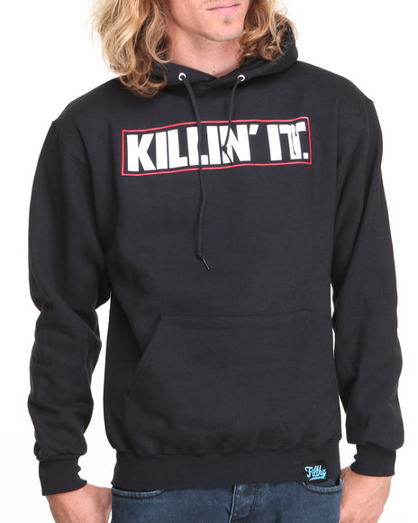 Filthy Dripped - Men Black Killin It Hoodie