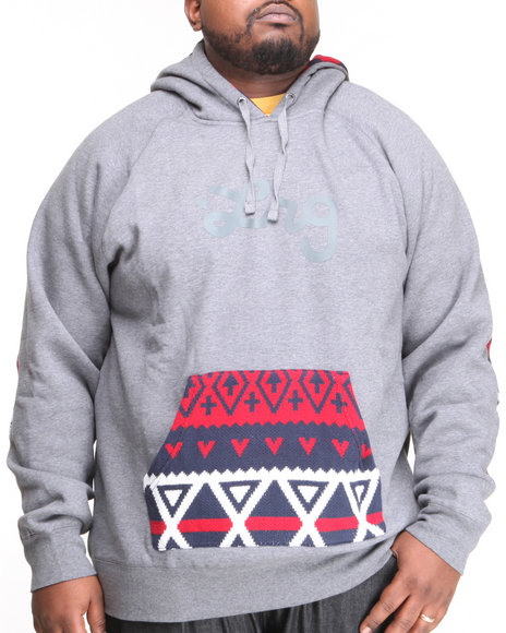 LRG Charcoal Alpiner Pullover Hoodie (Big & Tall)