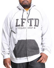 Hoodies - Lifted Varsity Zip-Up Hoodie (B&T)