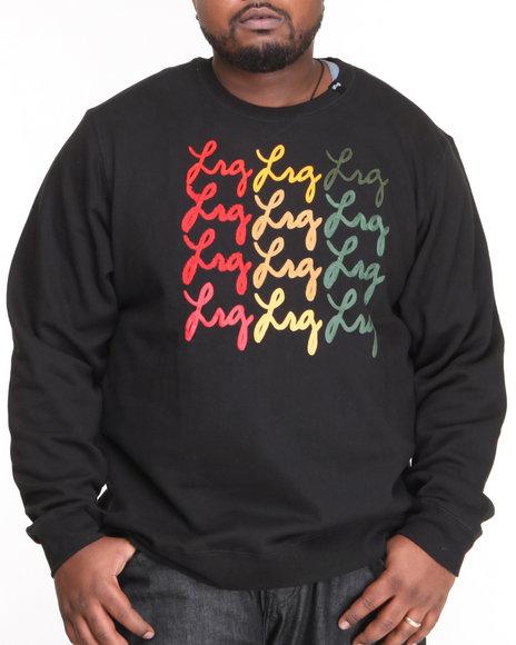 LRG Black Handwriter Sweatshirt (Big & Tall)