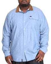LRG - On The Hunt L/S Button-Down (B&T)