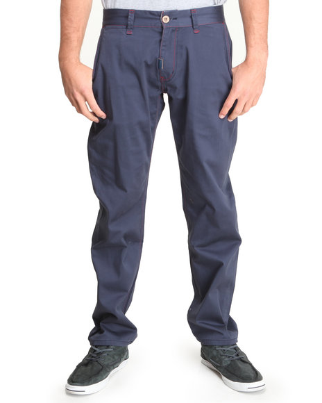 Lrg - Men Navy Father Nature True-Straight Pants