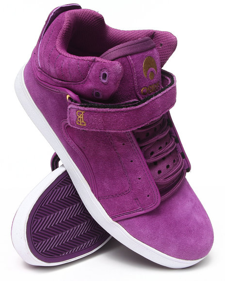 Osiris - Men Gold,Purple,White Bingaman Vlc Sneakers - $32.99