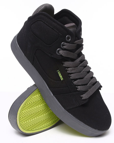Osiris - Men Black,Green,Grey Effect Sneakers
