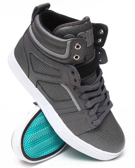 Osiris - Men Grey,Silver,White Raider Sneakers - $54.99