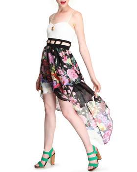 DJP OUTLET - Daisy Floral Printed Dress