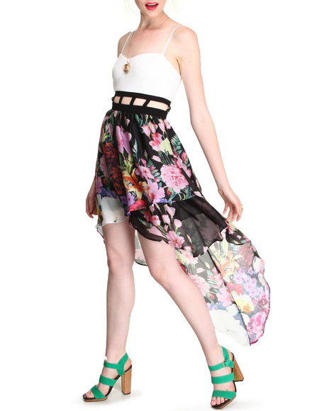DJP OUTLET - Daisy Floral Printed Dress