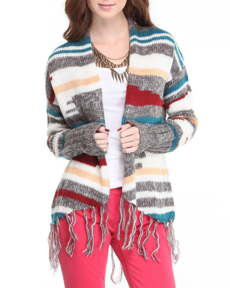 Djp Outlet - Women Multi Huddy Sweater