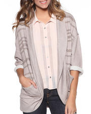 Sweaters - Intertwine Open Cardigan