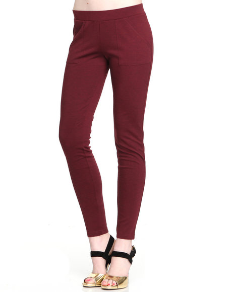 Djp Outlet Red Leggings