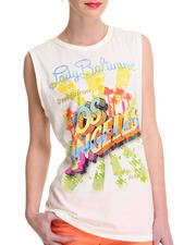 Tops - Lady Baltimore  Lady Los Angels Sleeveless Crewneck Tee