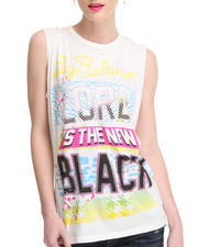 Tops - Lady Baltimore  Lord Is the New Black Sleeveless Crewneck tee