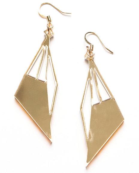 Djp Outlet Gold Earrings