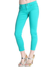 Fall Shop - Women - Big Star Alex Mid Rise Crop Cotton Satin Pant