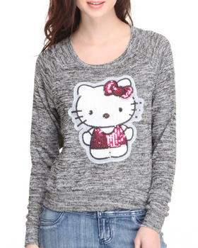 Fashion Lab - Helo Kitty Sequin Detail Pullover