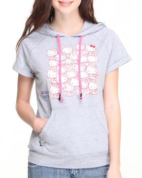 Hello Kitty - Hello Kitty Short Sleeve Pullover Tee w/headphones