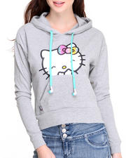 Women - Hello Kitty Hoodie Buddie w/built in headphones