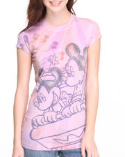 Graphix Gallery - MIckey Roller Coasted Sublimation Print tee
