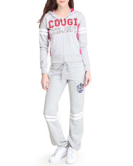 COOGI Grey Varsity Active Set