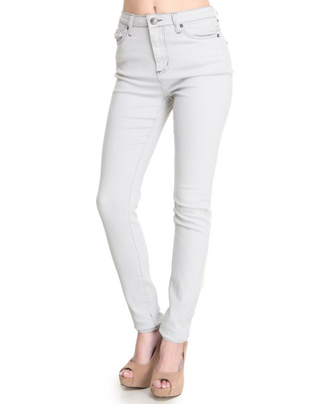 Basic Essentials - Alicia High Waisted Super Stretch Jean