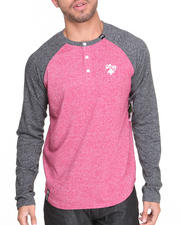 Long-Sleeve - No Pressure L/S Henley