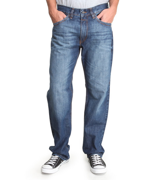 Rocawear - Men Medium Wash Noho Classic - Fit Denim Jeans