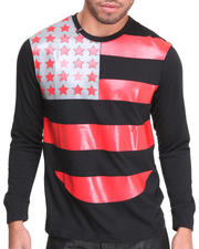 T-Shirts - Crew Neck Flag Tee